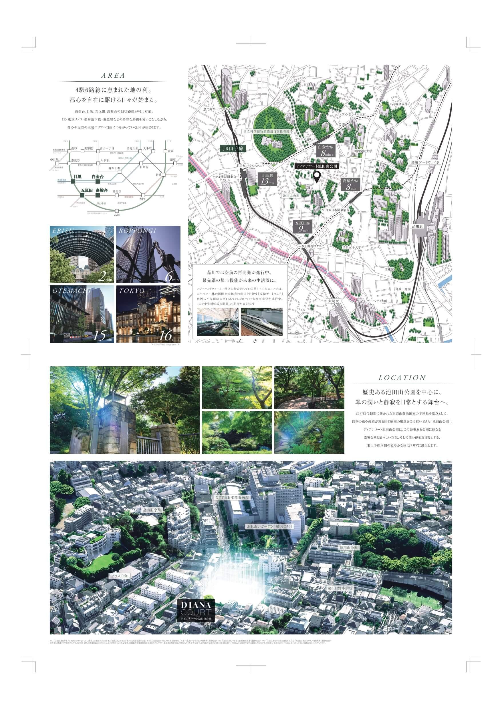 ディアナコート池田山公園